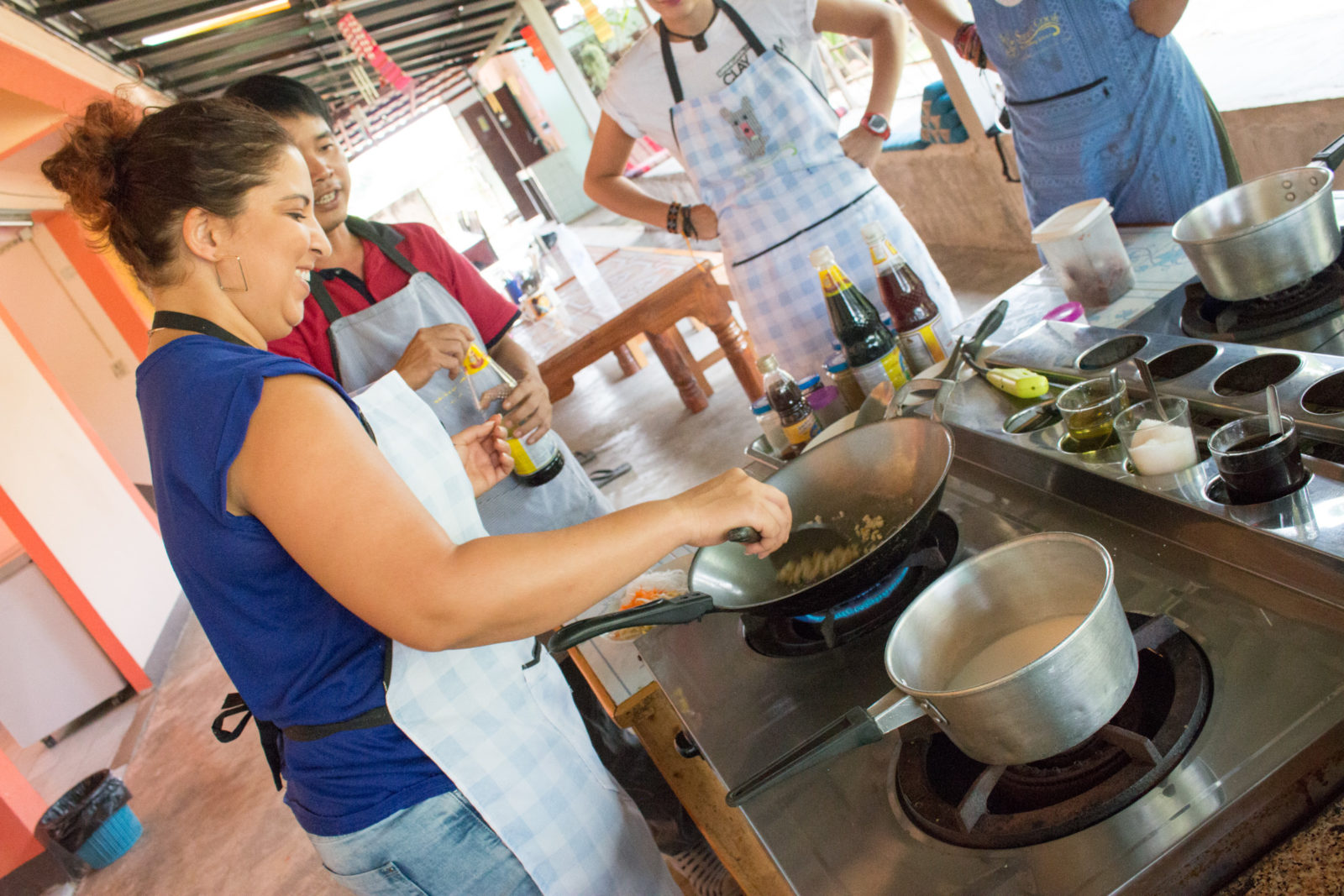 Thai cooking course in Chiang Mai, Thailand