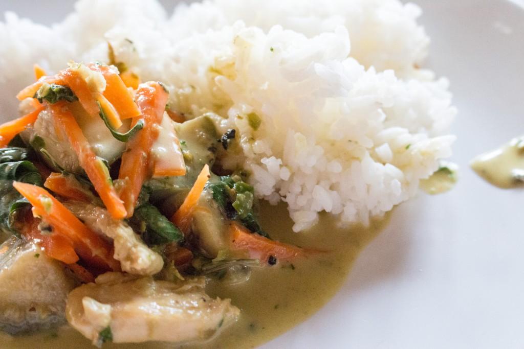 Kochkurs Chiang Mai - Green Curry