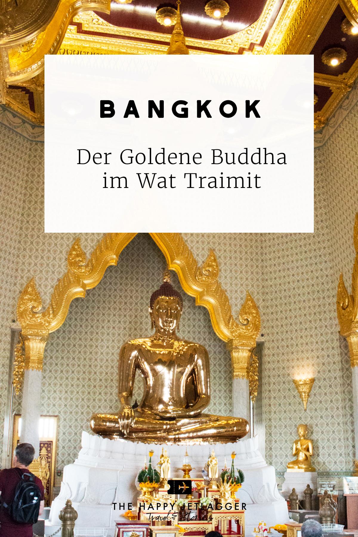 Goldener Buddha Bangkok