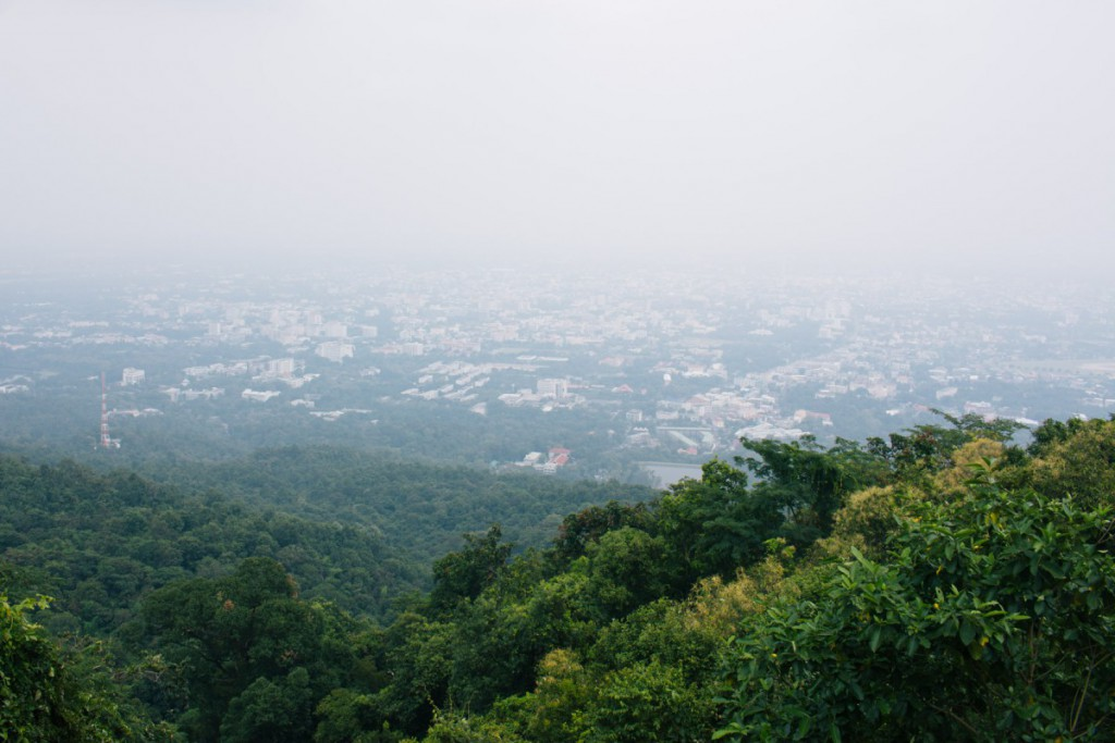 View on Chiang Mai