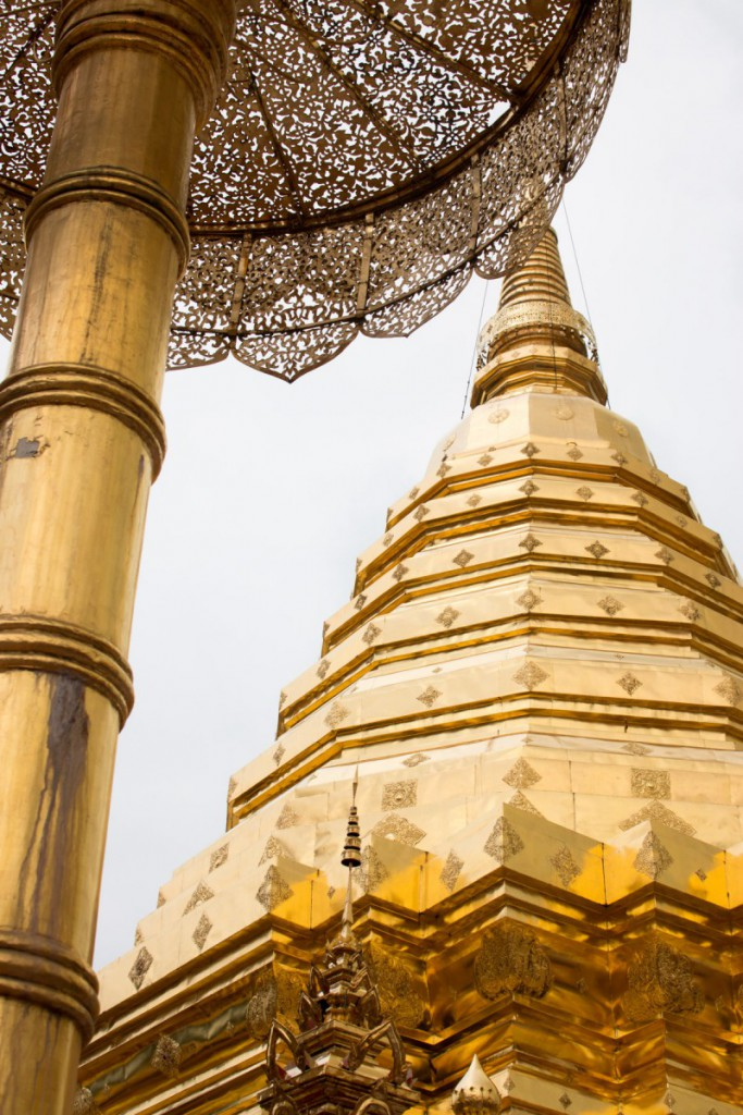 Golden stupa in Doi Suthep