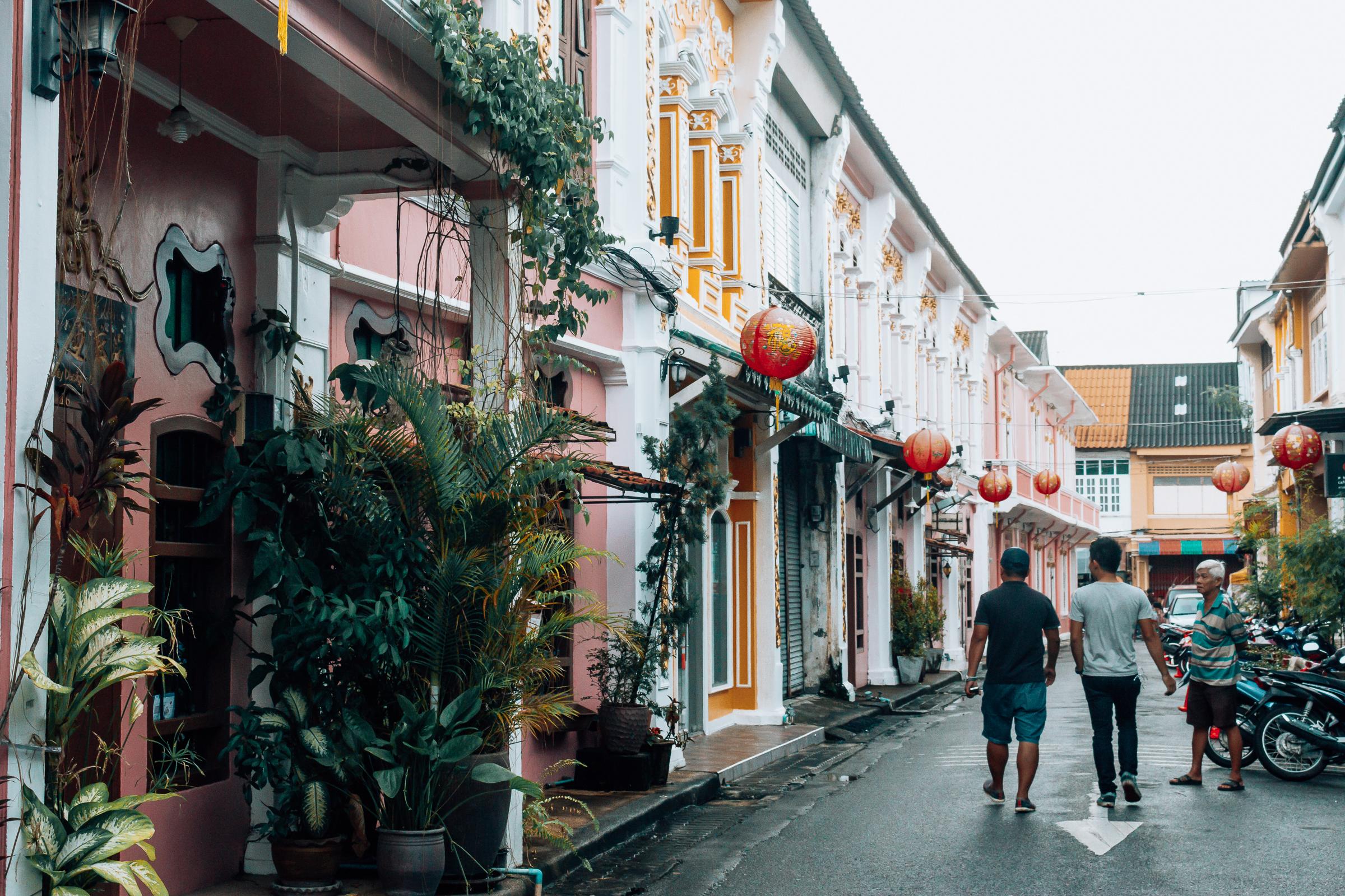 Phuket Stadt Altstadt