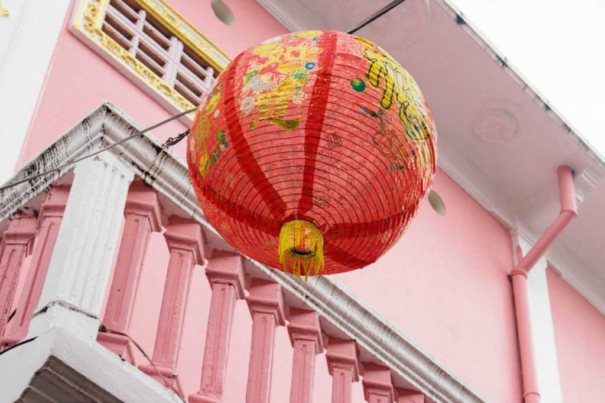 Phuket Stadt Sehenswürdigkeiten China Laterne