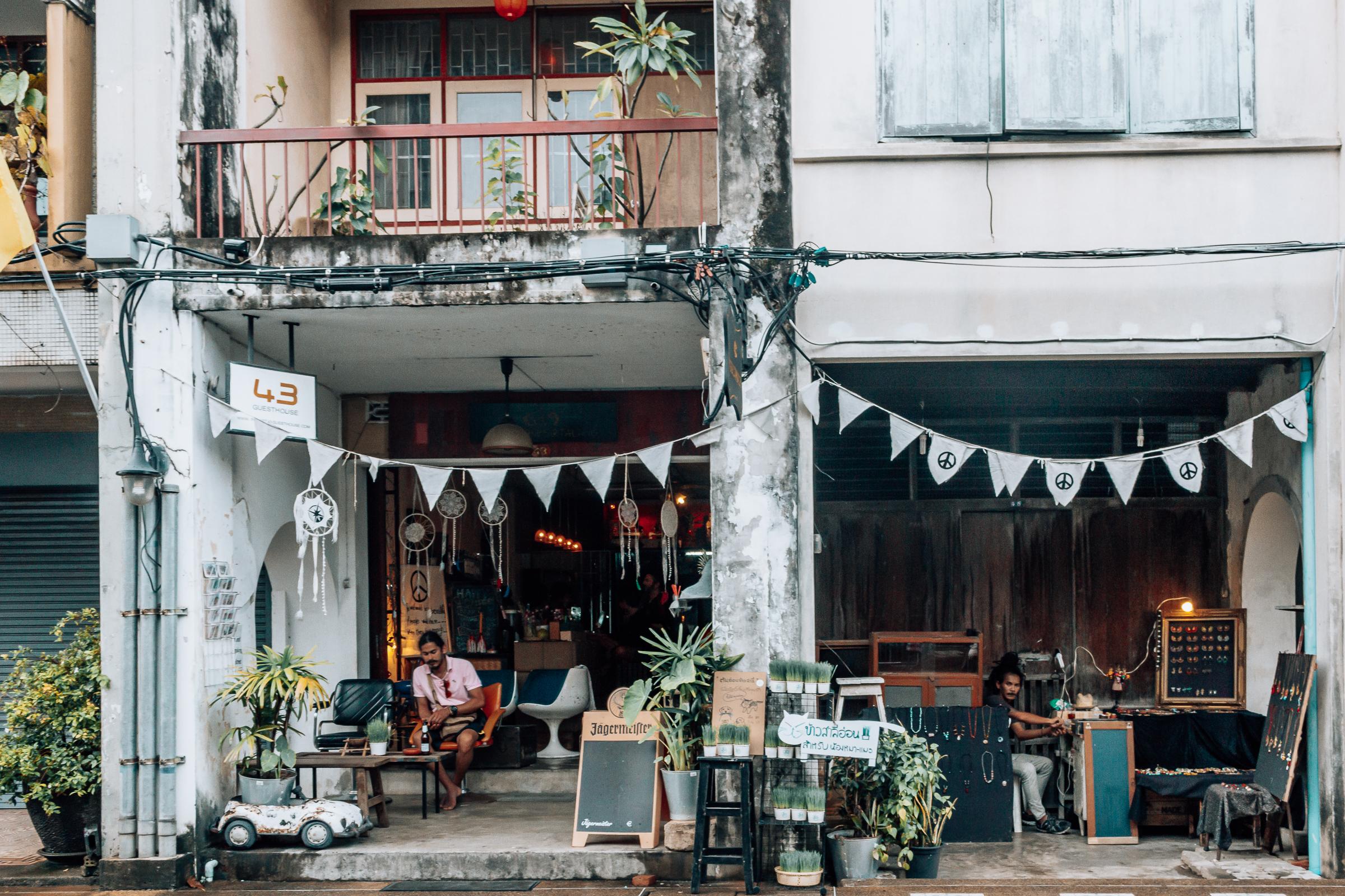 Phuket Stadt Sehenswürdigkeiten und Street Food