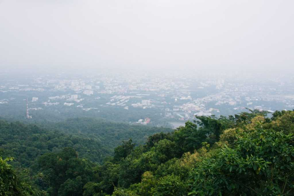 View Doi Suthep Chiang Mai