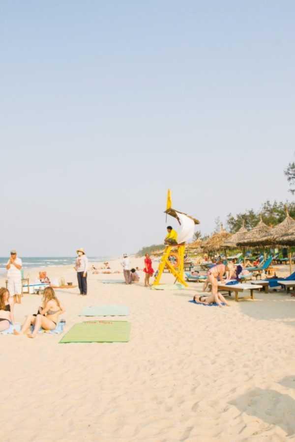 Hoi An an bang beach vietnam