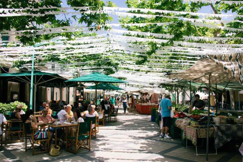 Esporles market in Mallorca