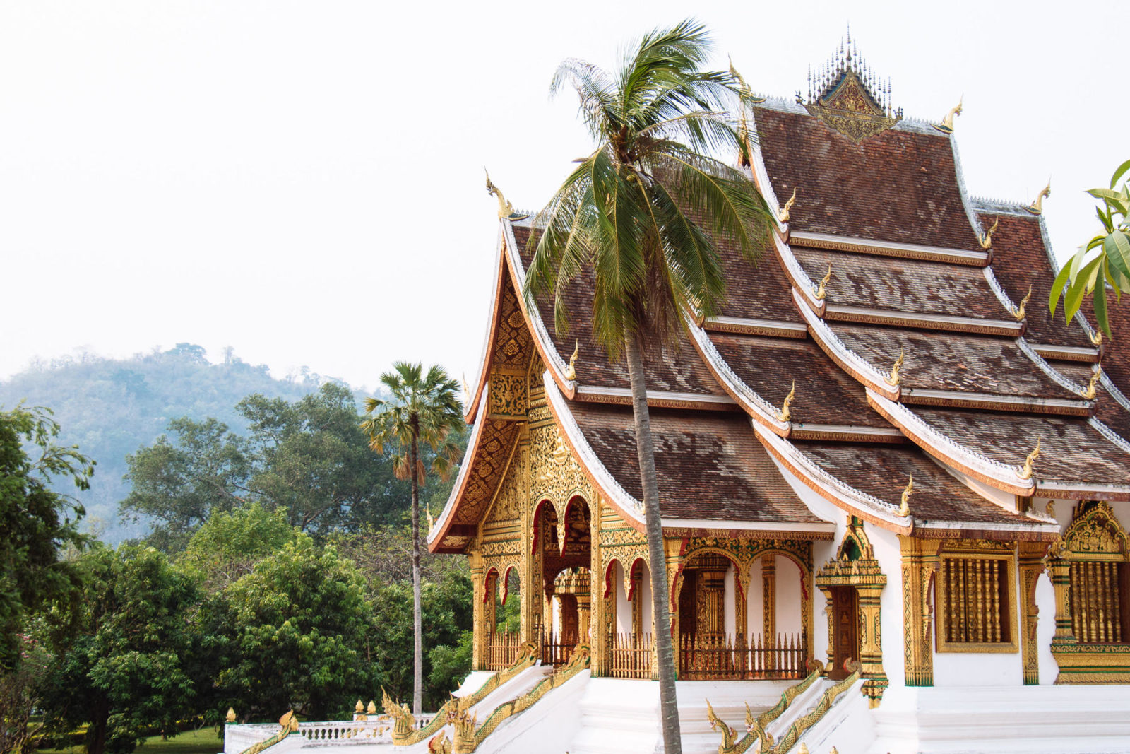 Haw Pha Bang temple, National Museum, Luang Prabang, Lao