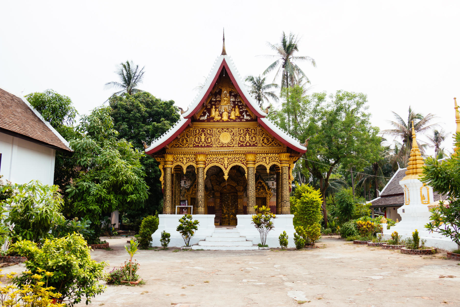 Somewhere in the old town of Luang Prabang