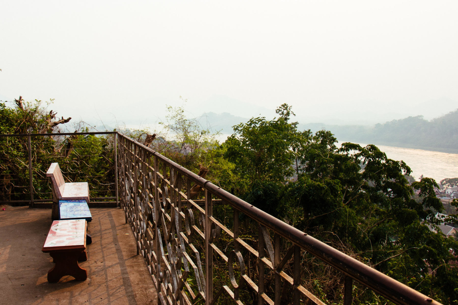 View from top of Mount Phousi, Luang Prabang, Lao