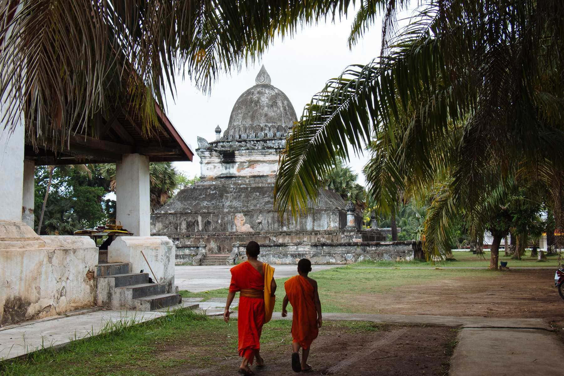 Luang Prabang: Aus der Zeit gefallen.