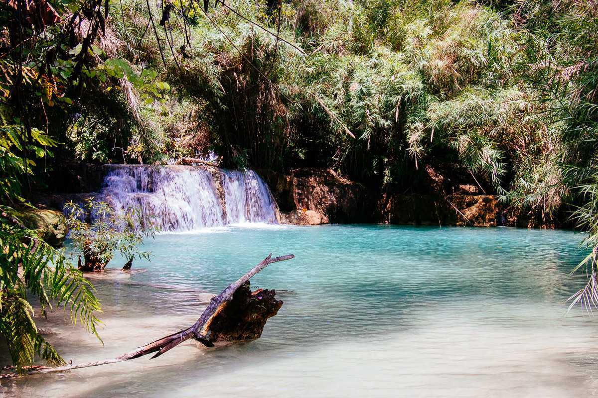Kuang Si Waterfall, Lao: Welcome to paradise