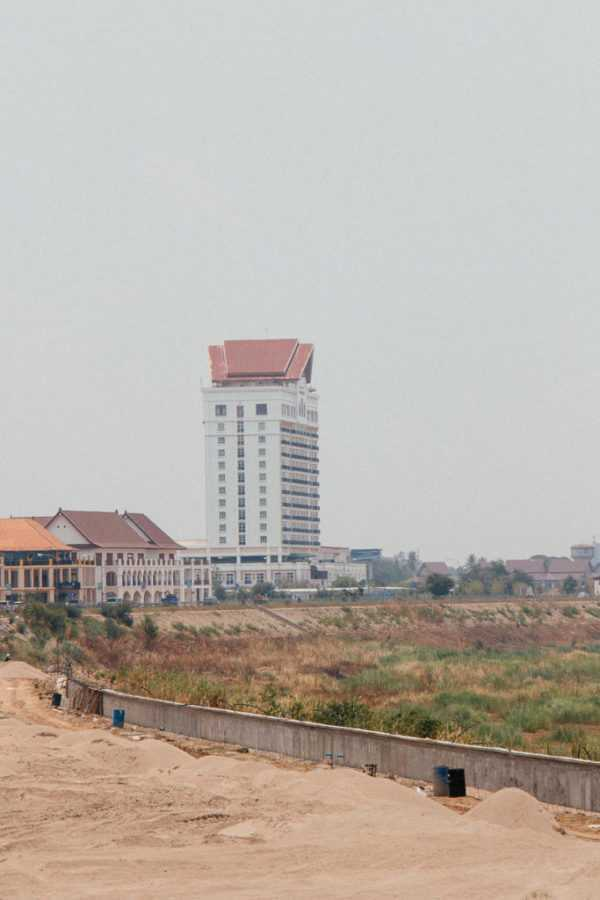 The only skyscraper in Vientiane, Lao
