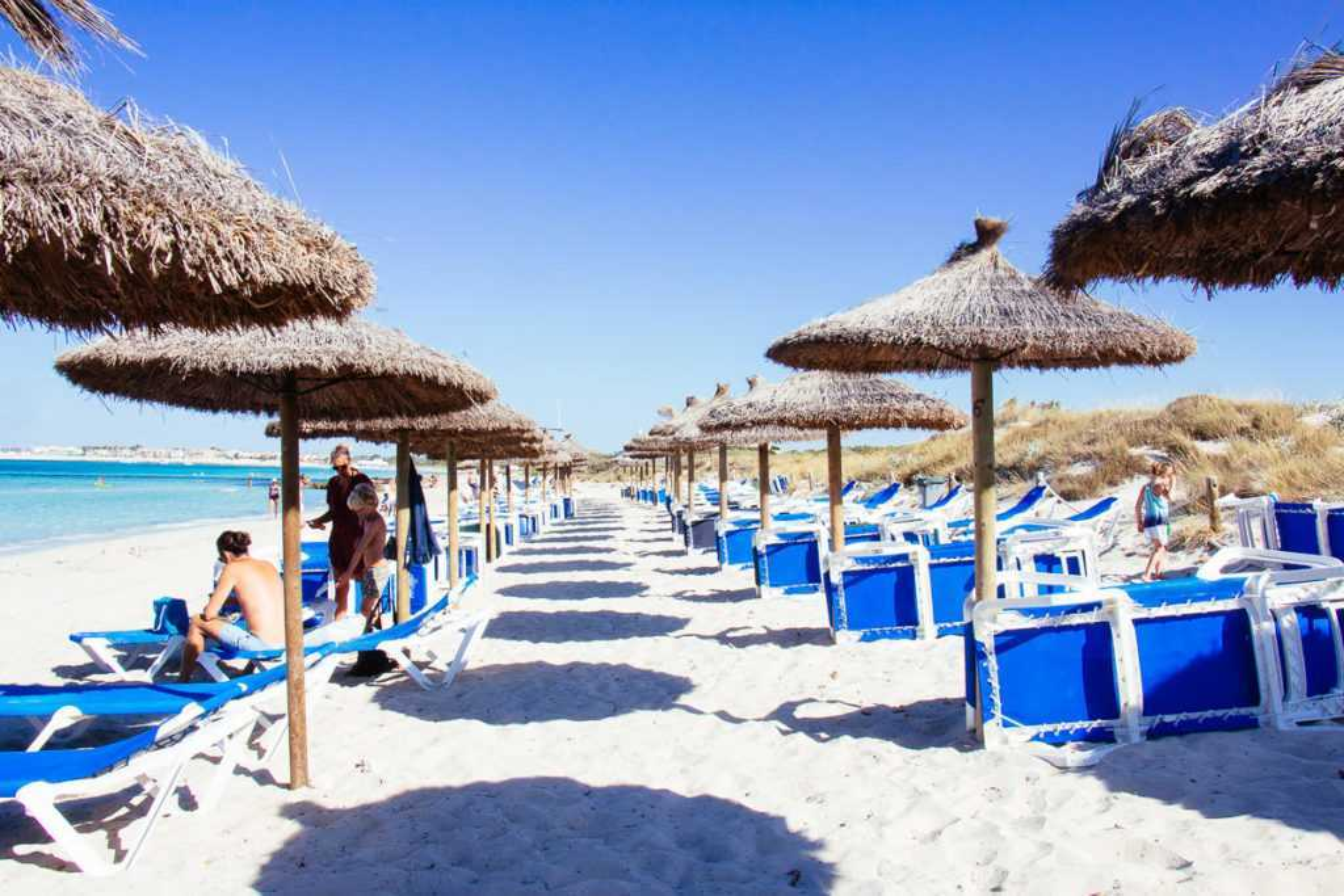 Strand von Es Trenc, Ses Covetes, Mallorca