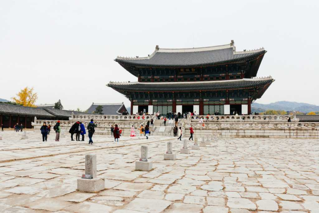Gyeongbokgung Palast, Seoul Sehenswürdigekeiten, Korea