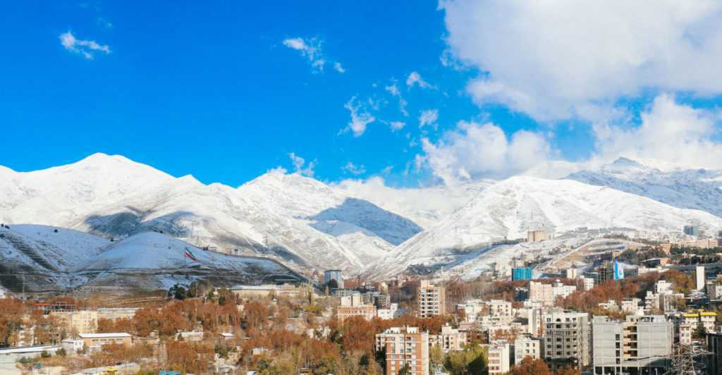 mountains teheran