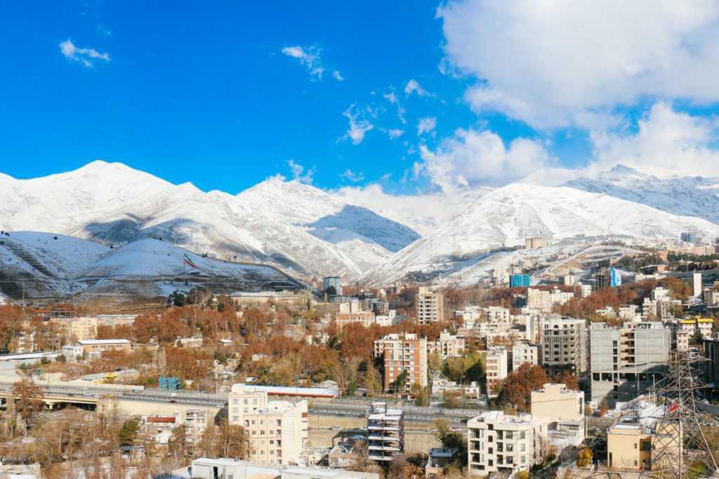 teheran mountain view