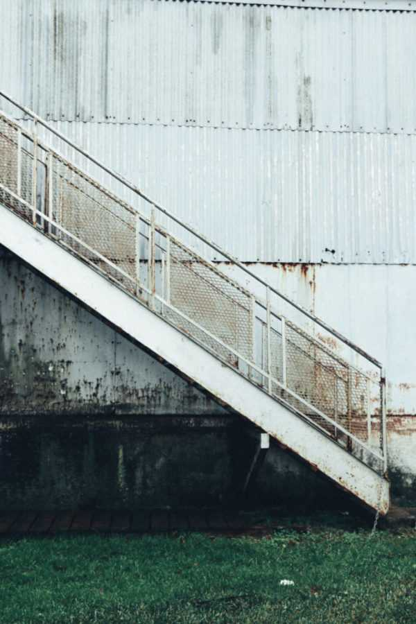 vieux port stairs