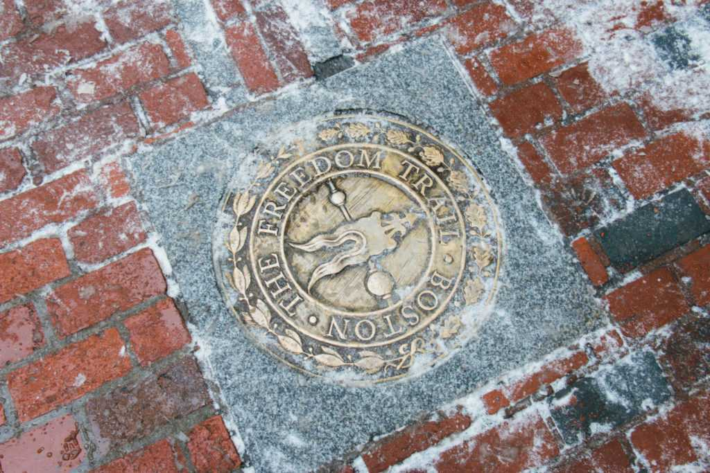 emblem boston freedom trail