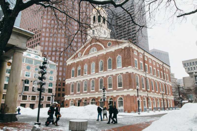 faneuil hall boston usa