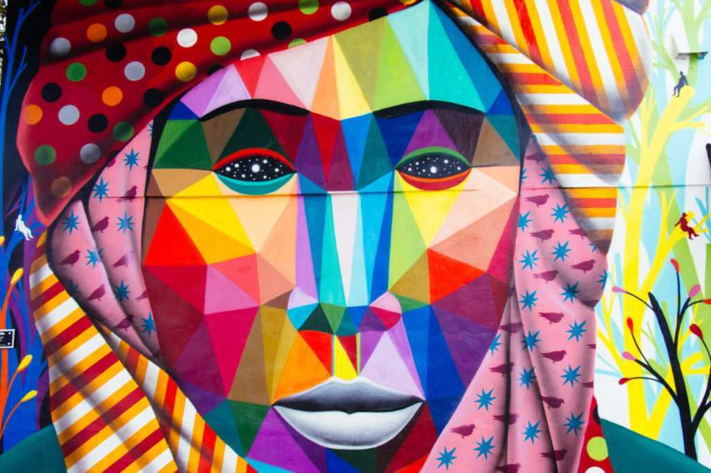 Wynwood Walls Street Art Mural Turban