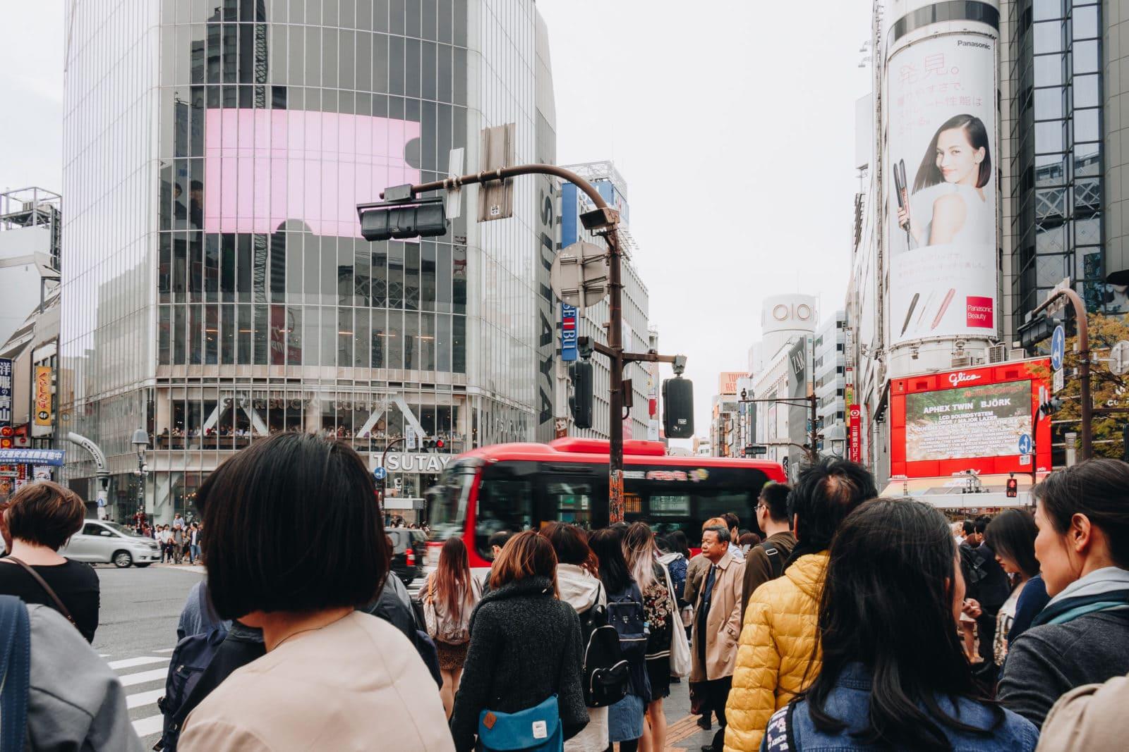 shibuya krezung tokio japan