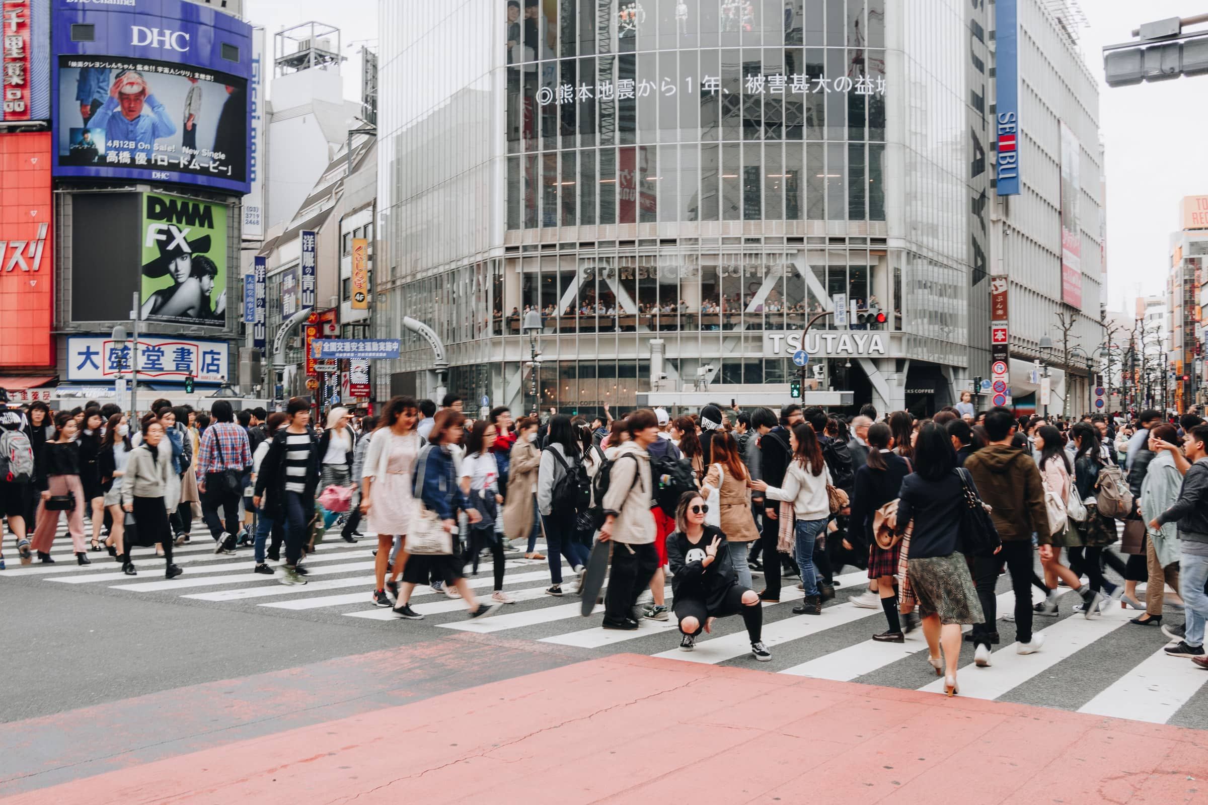 Shibuya Kreuzung Tokio