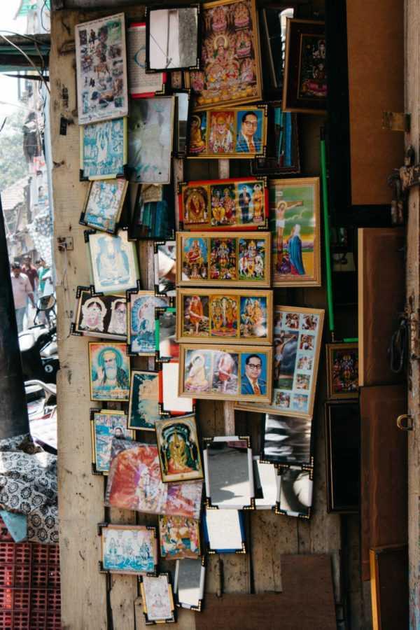 heiligenbilder in indien