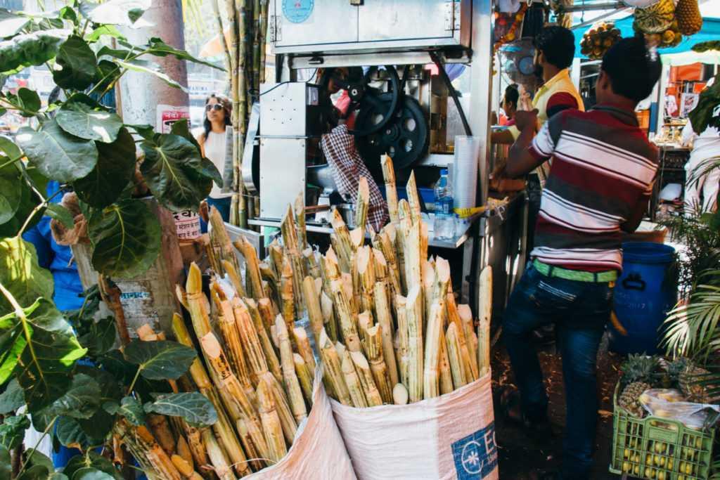 zuckerrohrpresse in indien