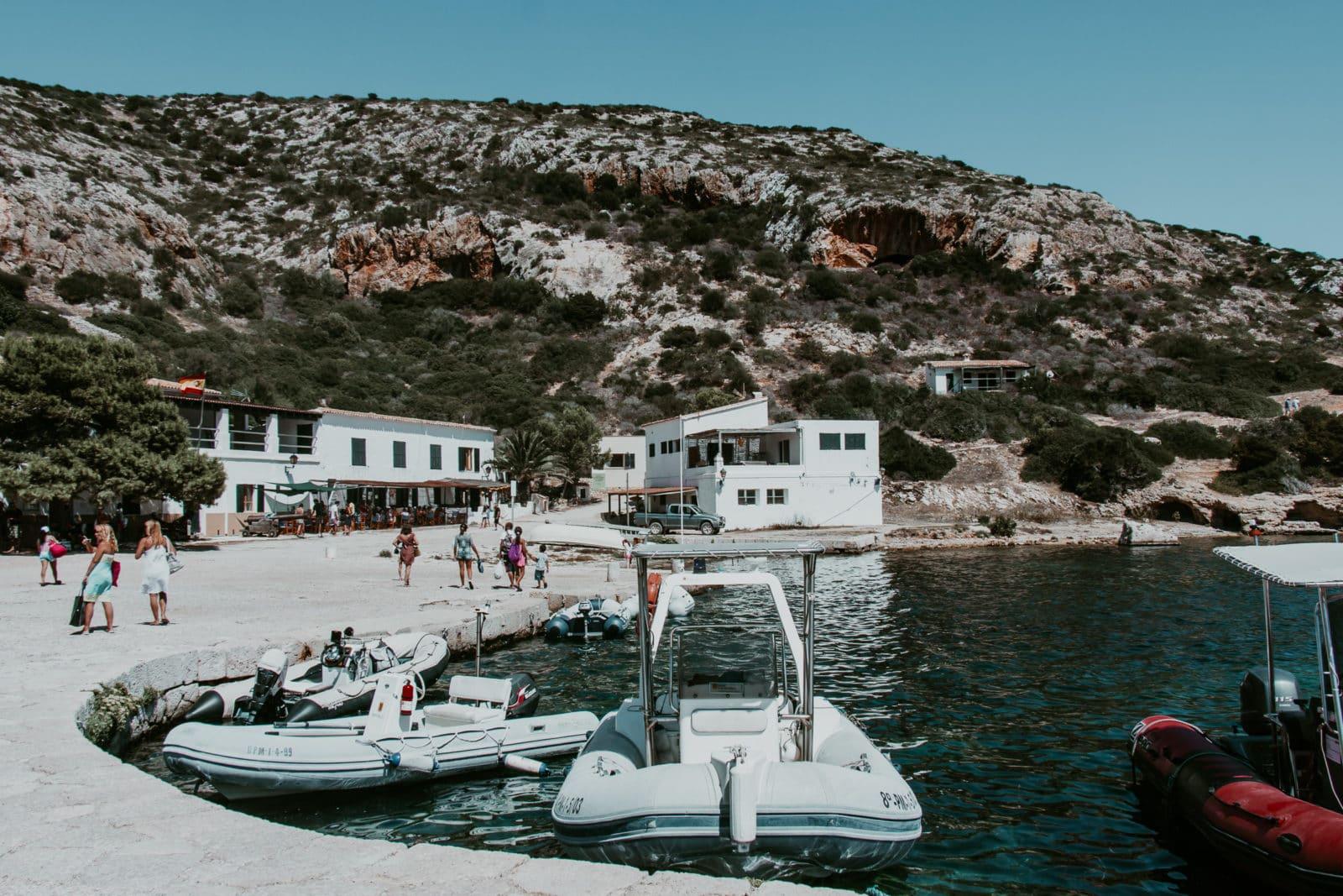 Isla de Cabrera Hafen