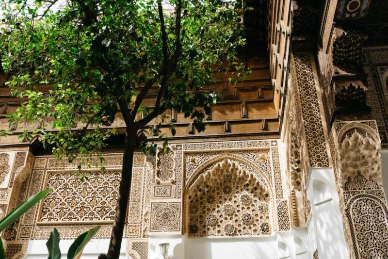 Bahia Palast Marrakech