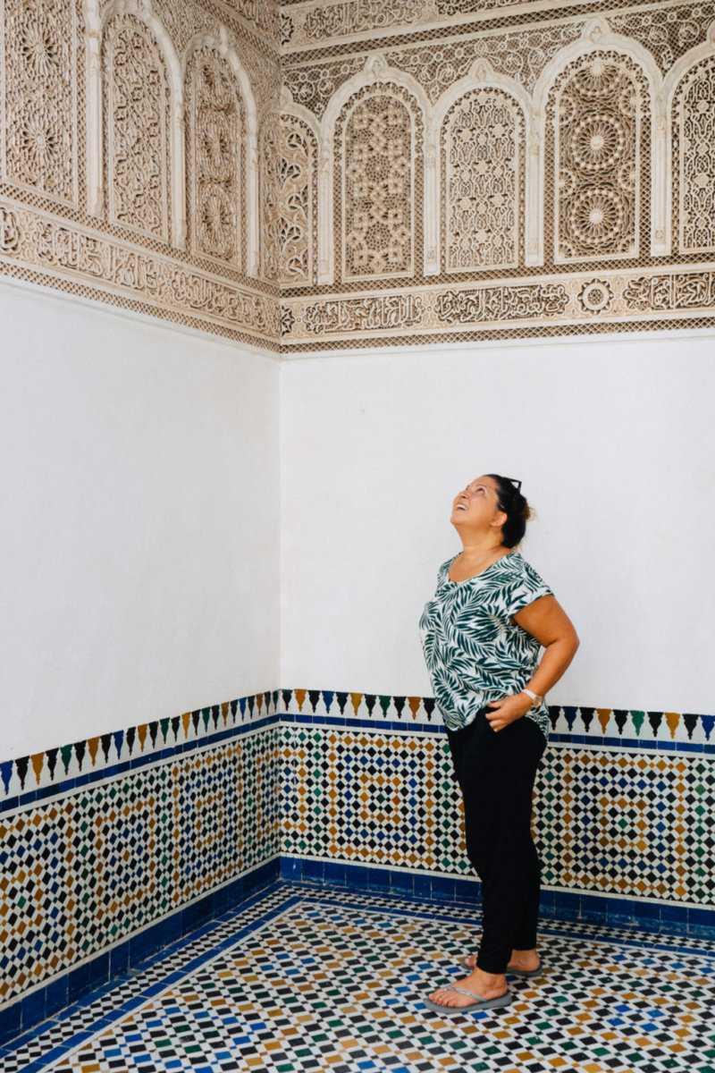 Frau allein nach Marrakesch reisen