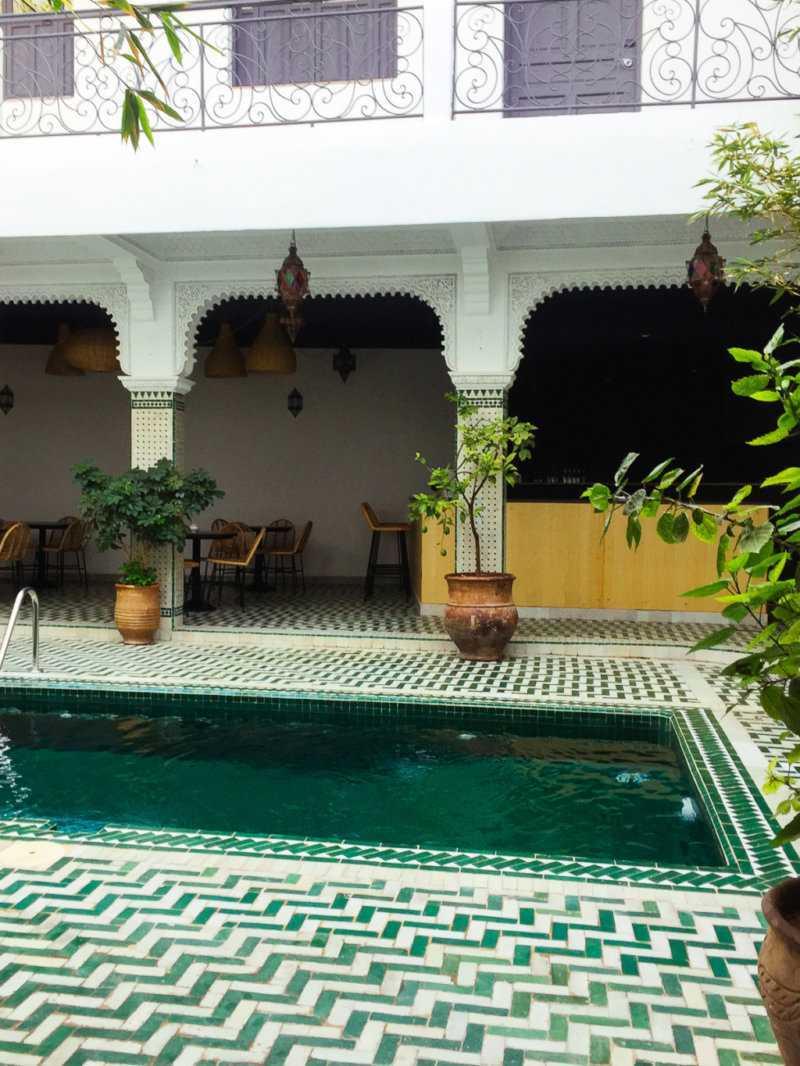 Pool Riad Rodamon Hostel Marrakesch