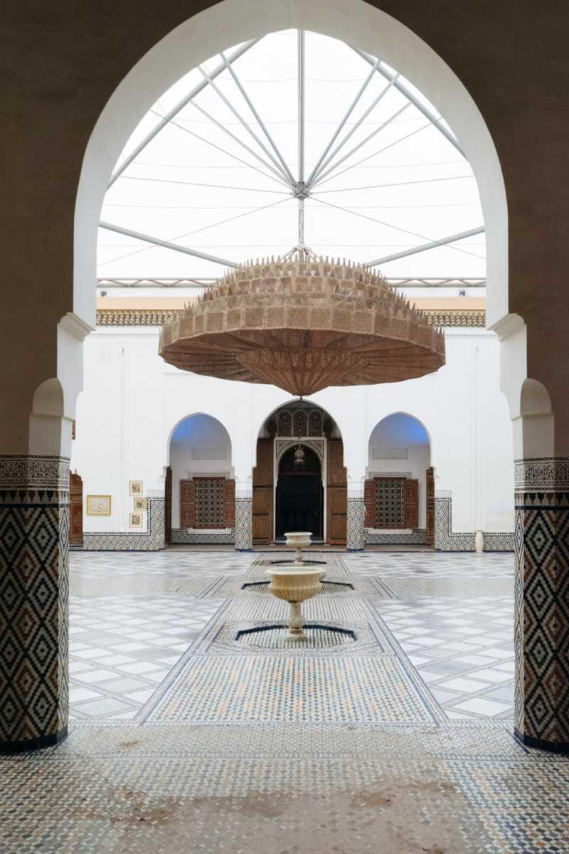 Innenhof Musée de Marrakech