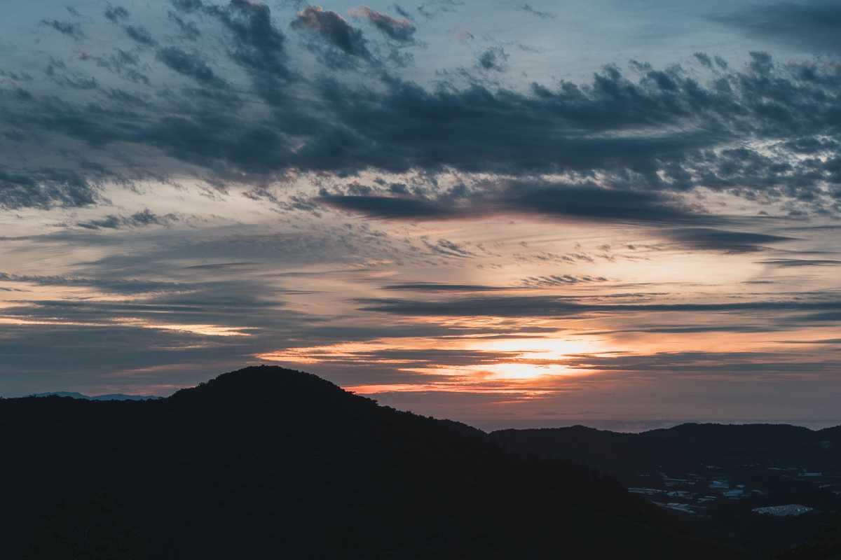Cameron Highlands Sonnenaufgang