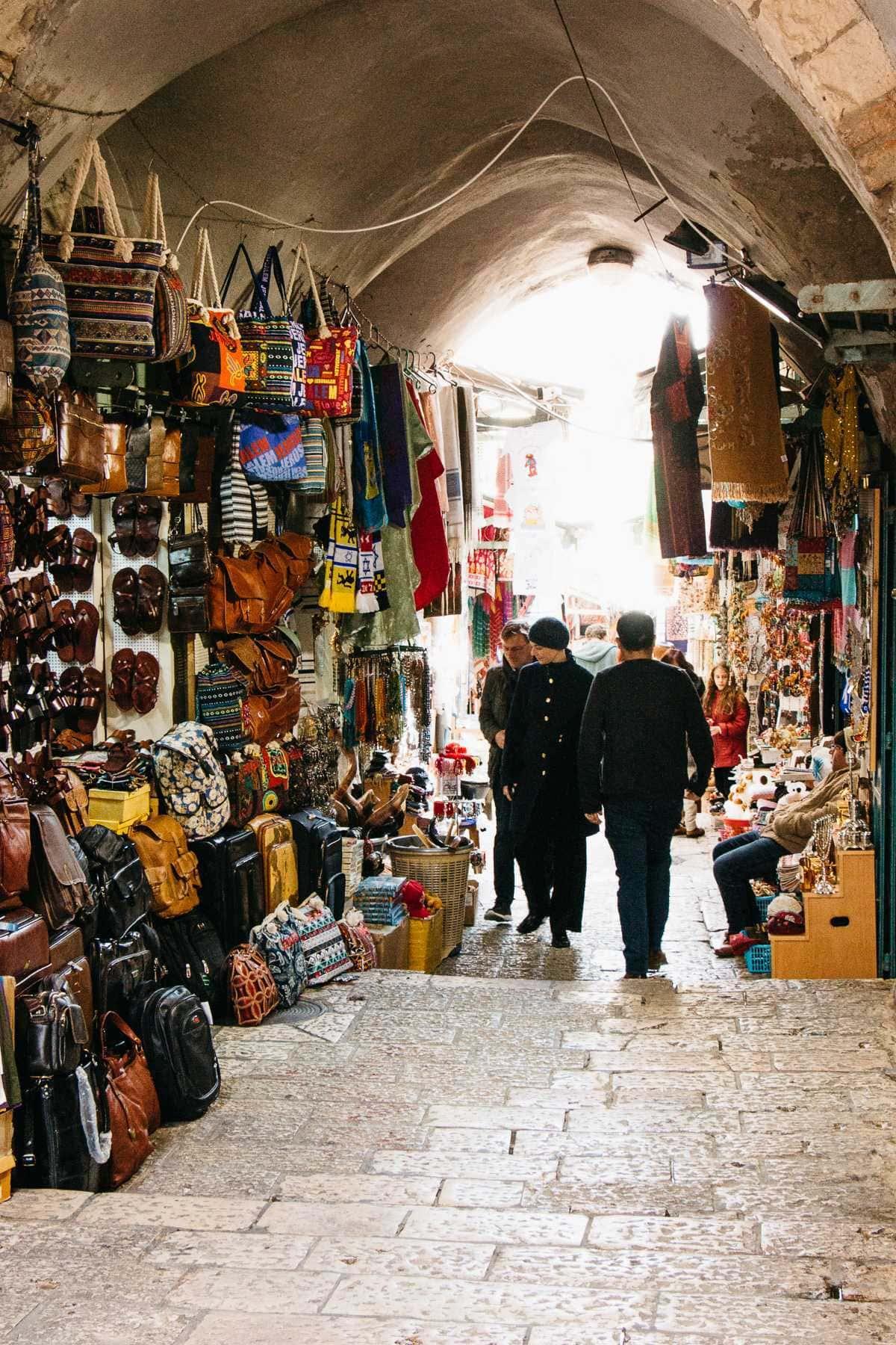 Händler Altstadt Jerusalem