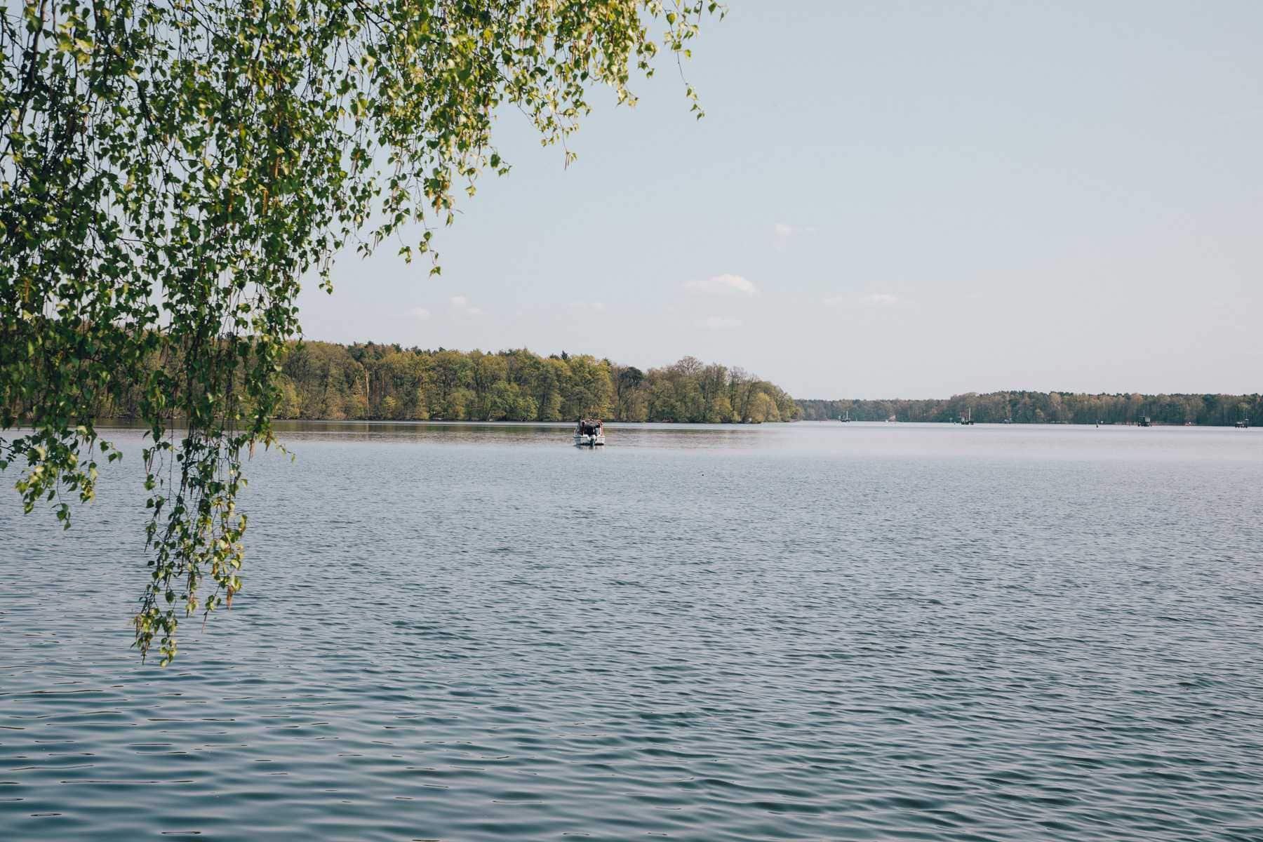 Cycle tour Müggelsee Bathing spots Berlin Dahme