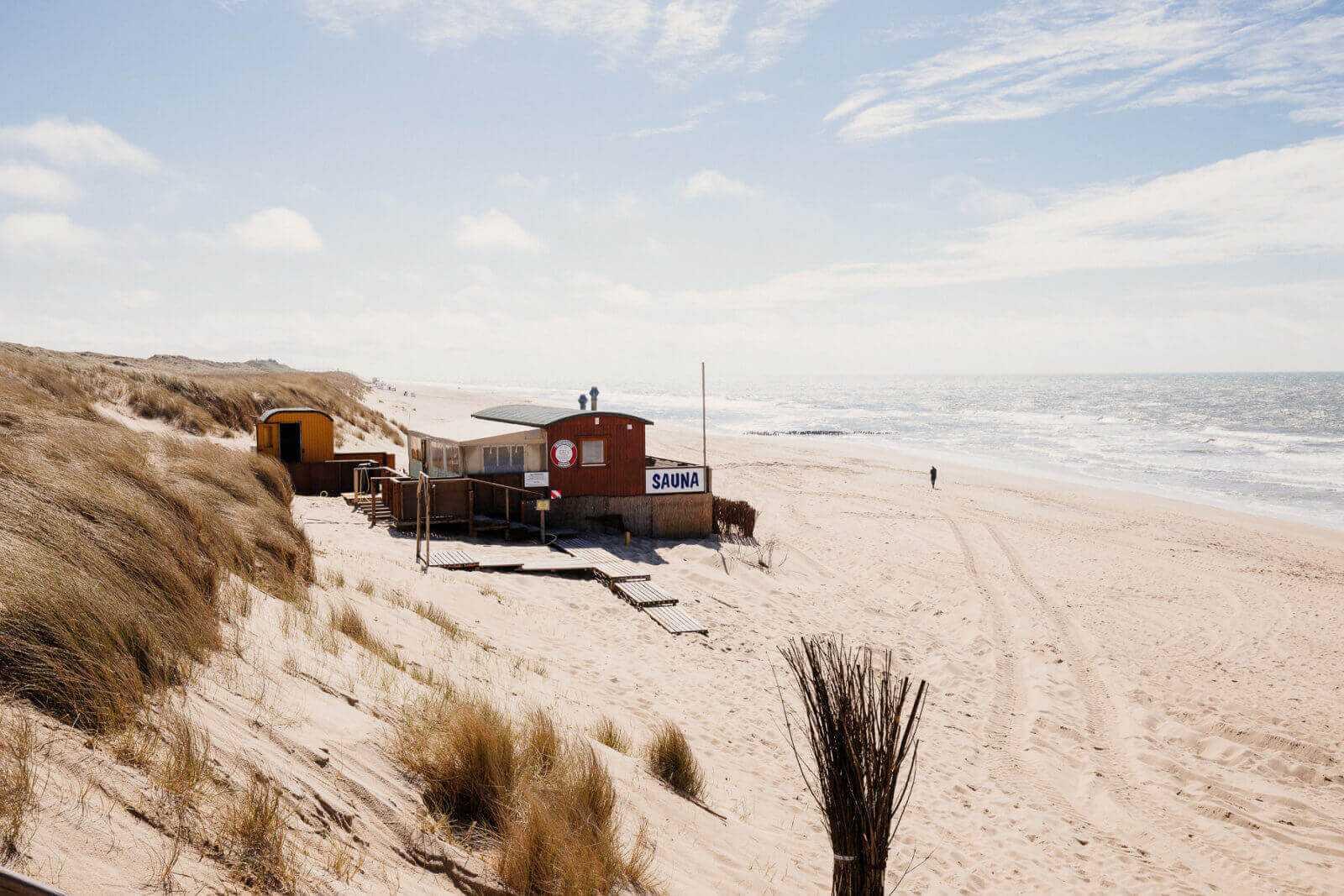 Sylt Sehenswürdigkeiten Rantum Strandsauna Sauna am Strand