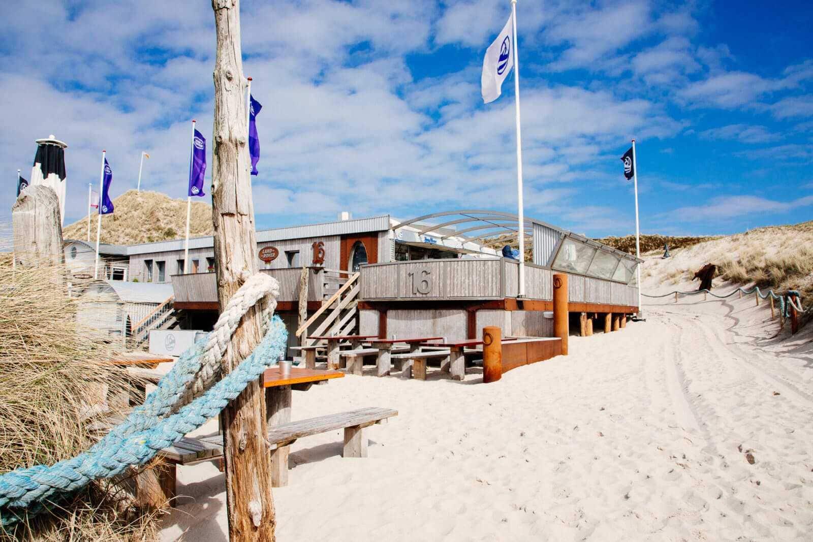 Sylt Sehenswürdigkeiten Buhne 16 Kampen Strandbar