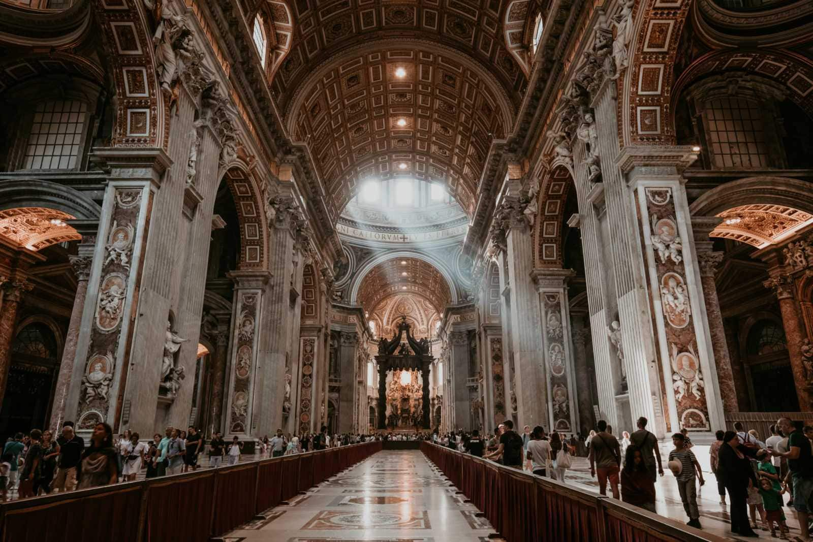 Rom Sehenswürdigkeiten Petersdom Vatikan