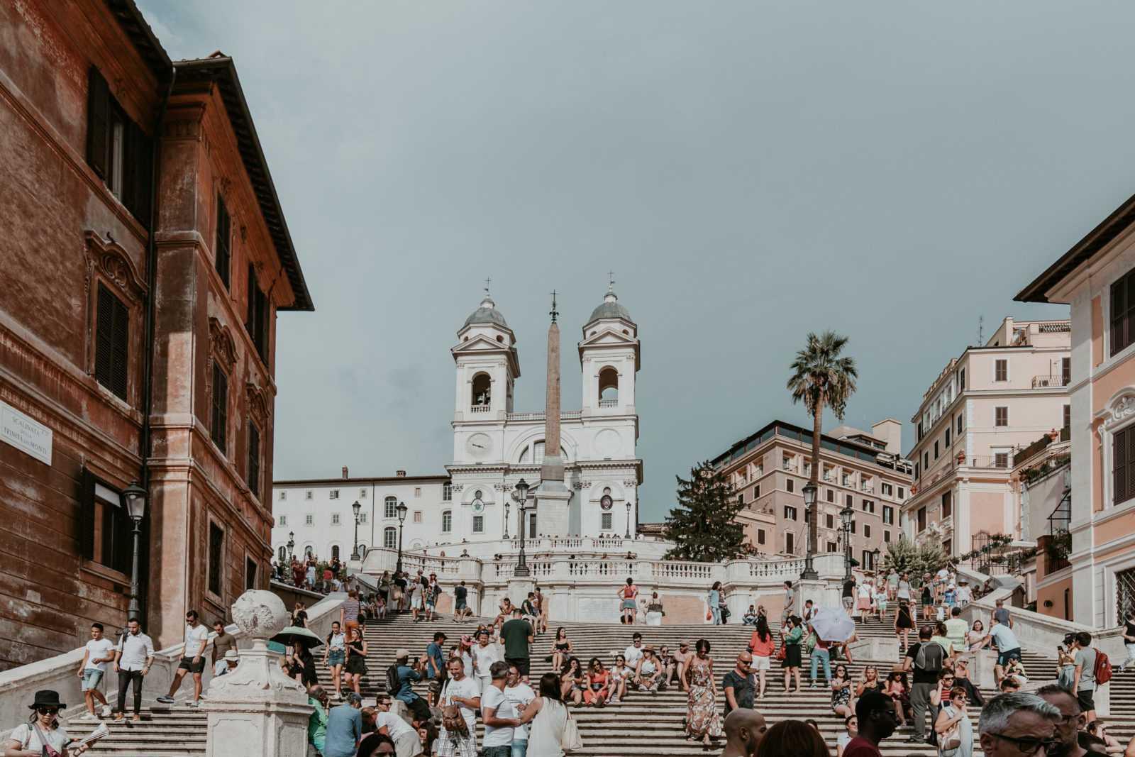 spanische treppe rom