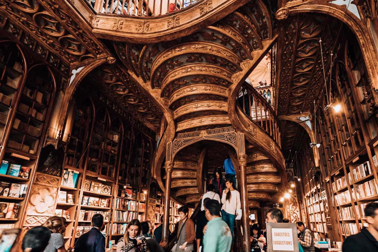 Livraria Lello in Porto: The Harry Potter bookstore