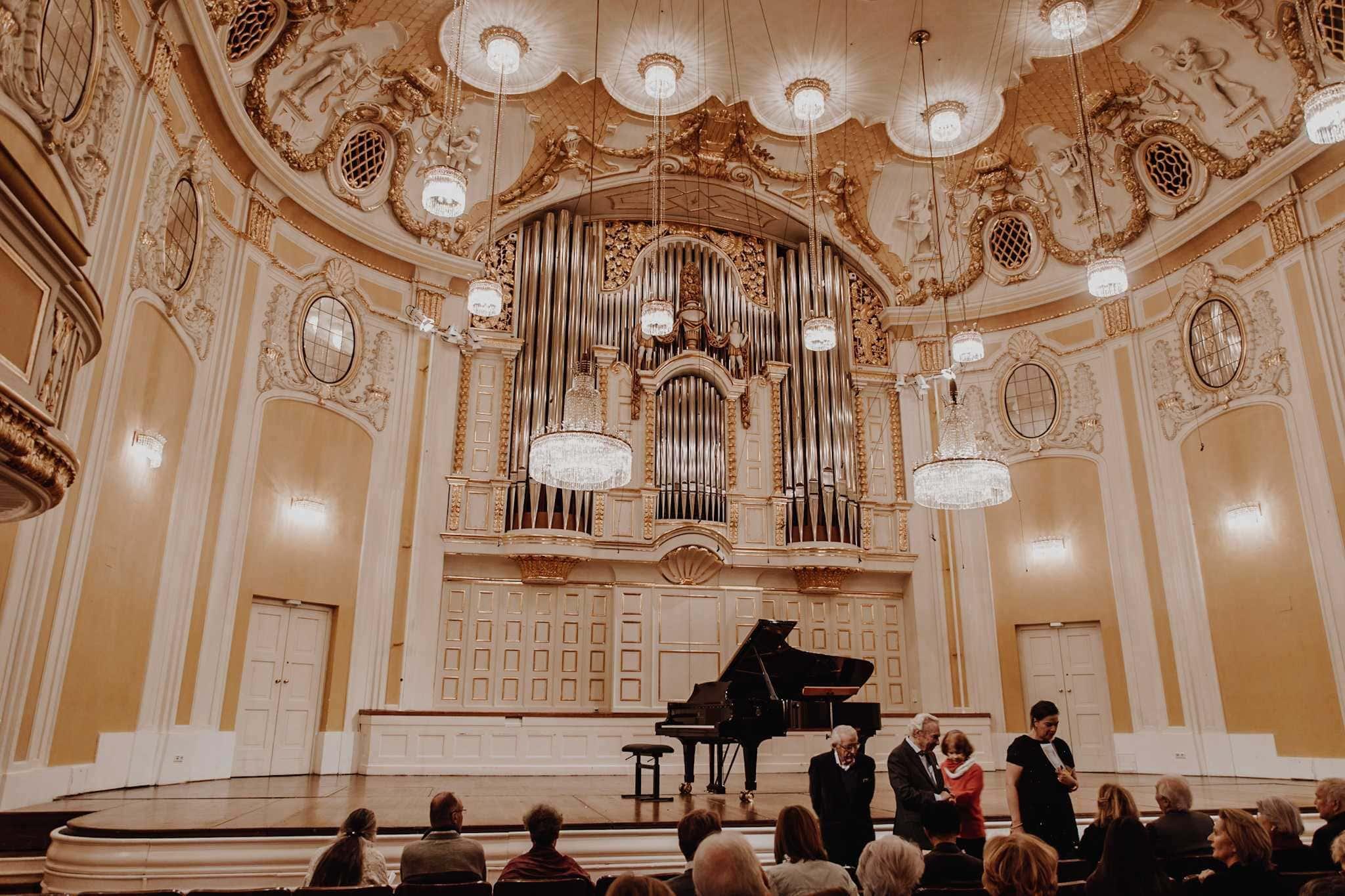 Bühne Goldener Saal Stiftung Mozarteum Salzburg Mozartwoche Konzert