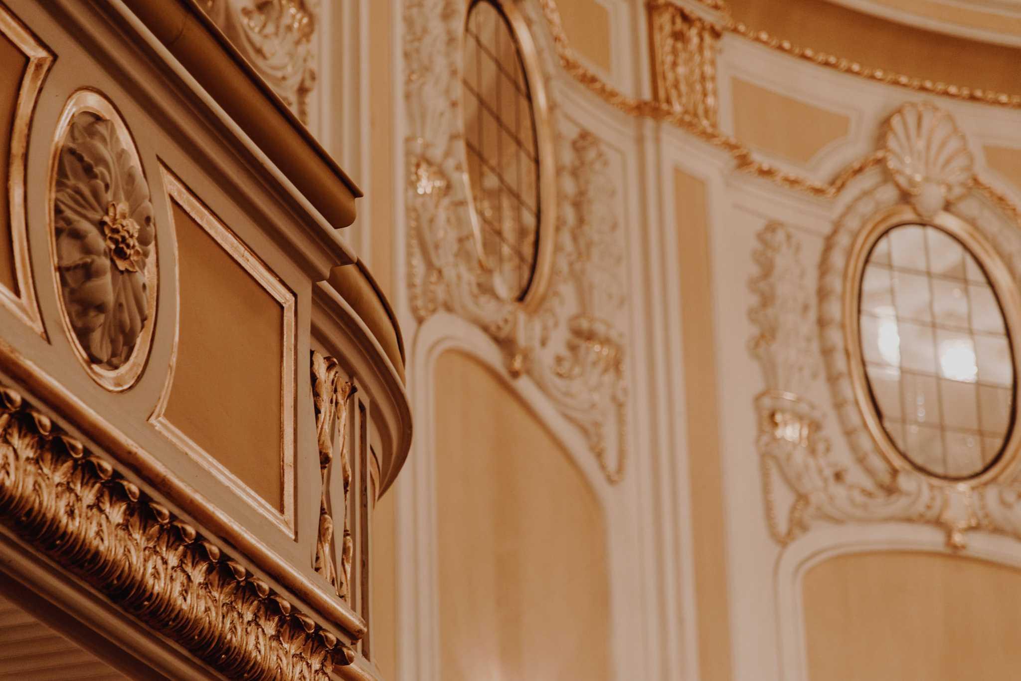Balkon im Goldenen Saal der Stiftung Mozarteum Salzburg