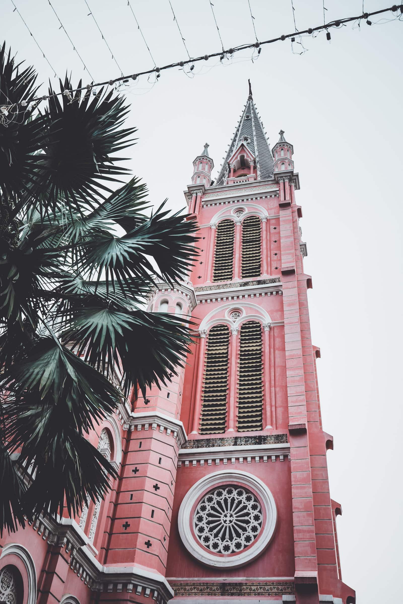 Tan Dinh Pink Church Saigon Ho Chi Minh City