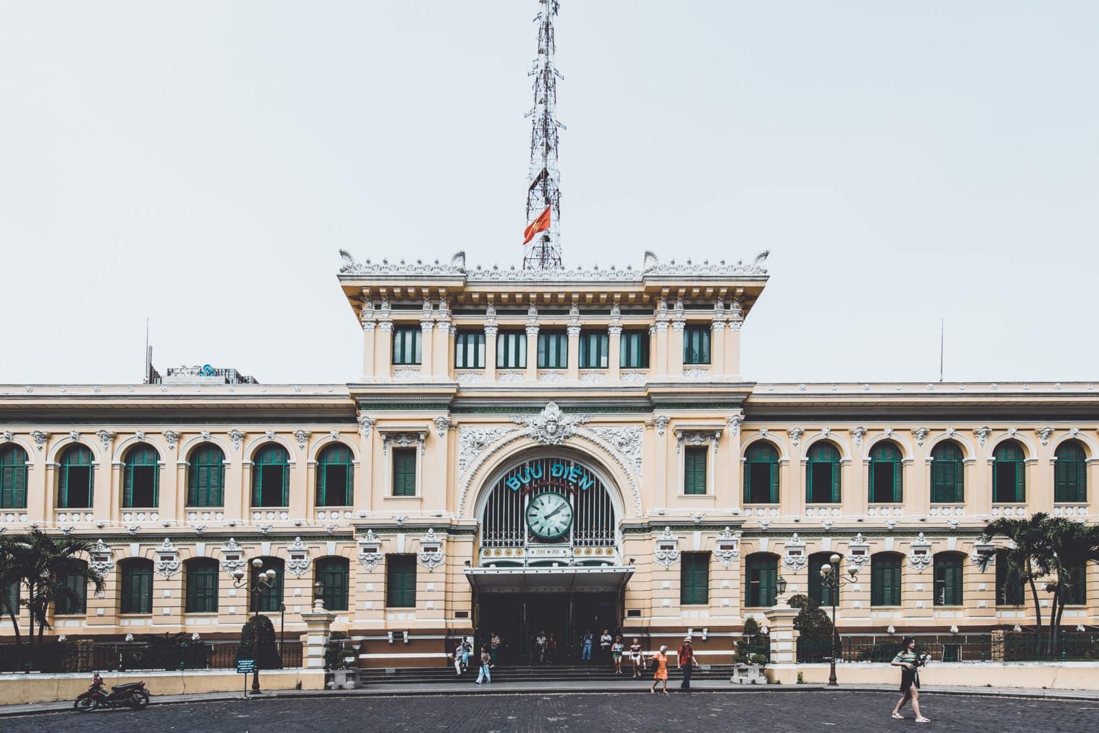 Hauptpostamt Saigon Ho Chi Minh City Vietnam