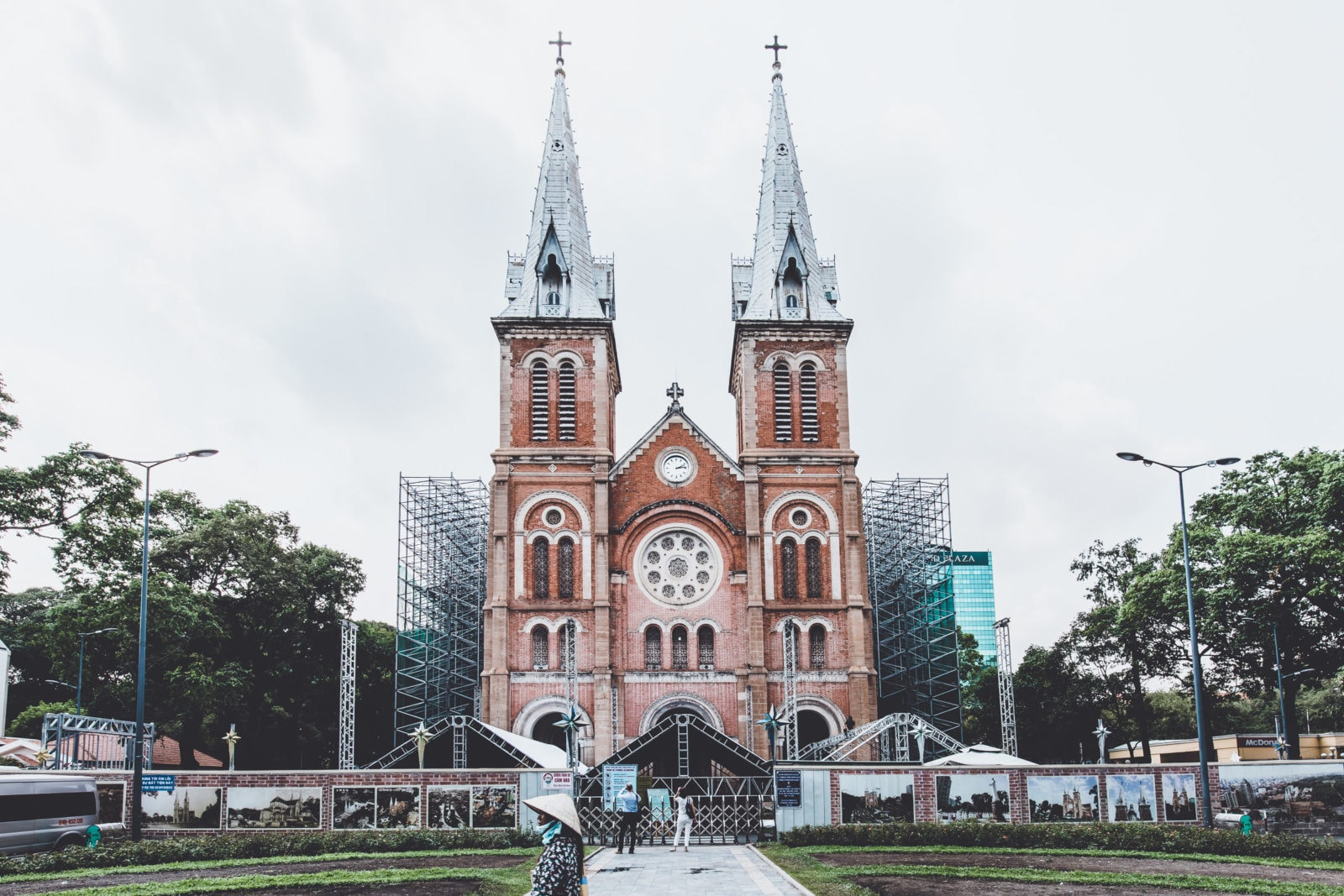 Kathedrale Notre-Dame in Ho Chi Minh City Saigon Vietnam