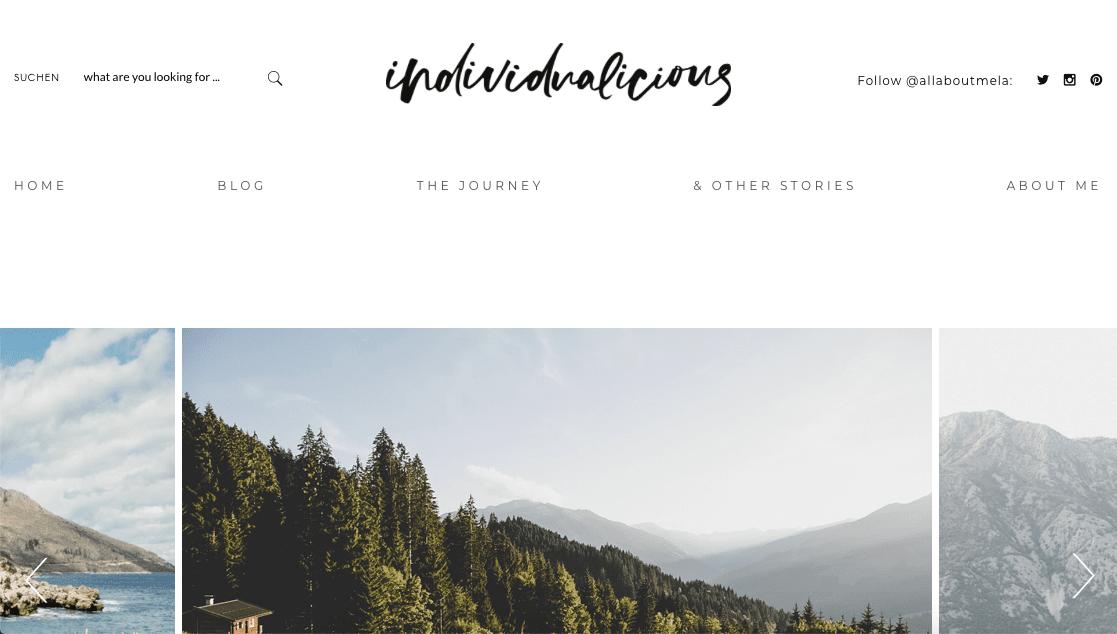 Reiseblog Storytelling individualicious