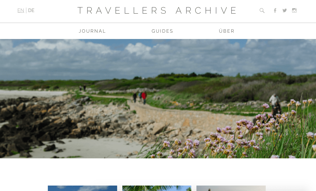 Reiseblogs Storytelling Travellers Archive