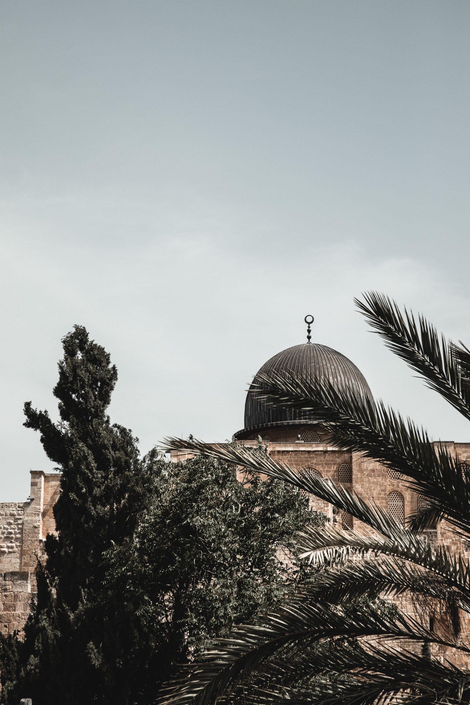 Jerusalem Sehenswürdigkeiten Al Aqsa Moschee Israel